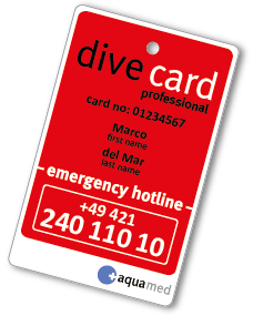 dive card professional
