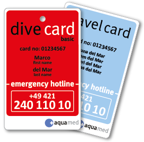 dive card basic + travel