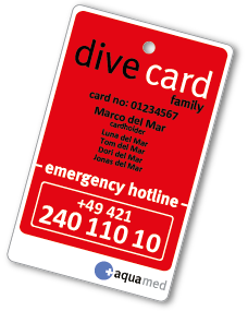 dive card family